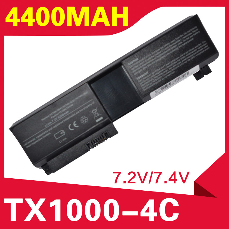 ApexWay 4400mAh Laptop battery for Hp Pavilion tx1000 tx1100 tx1200 tx1300 tx2000 tx2100 <font><b>tx2500</b></font> tx2600 image