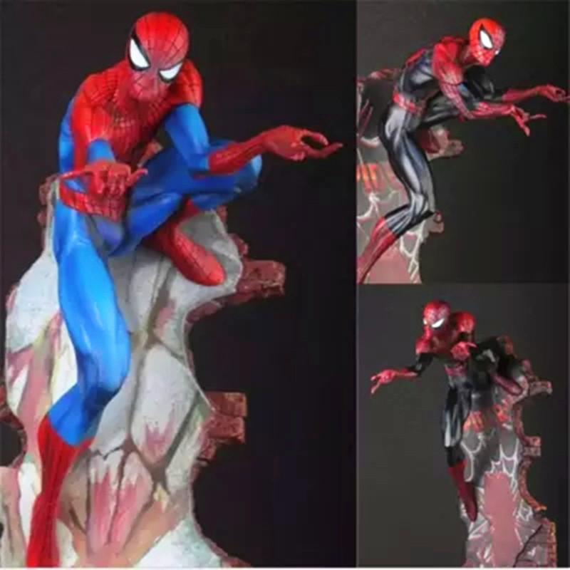 Crazy Toys Spiderman The Amazing Spider-man Tobey Maguire PVC Action Figure Collectible Model Toy G59 все цены