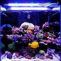 NCFAQUA Chihiros серии Super Slim аквариум светодиодный освещения Системы для 60-90 см морской аквариум солоноводный коралловый риф RGB светодиодный свети...