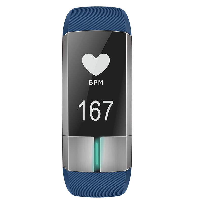 Sleep Monitor for Ios Android Sport USB Charging Blood Pressure Fitness Tracker Call Reminder Alarm Clock Smart Wristband