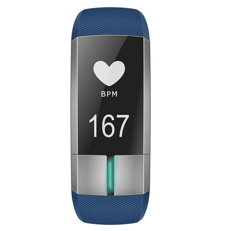 Sommeil Moniteur pour Ios Android Sport USB De Charge Sang Pression Fitness Tracker Appel Rappel D'alarme Horloge Bracelet À Puce
