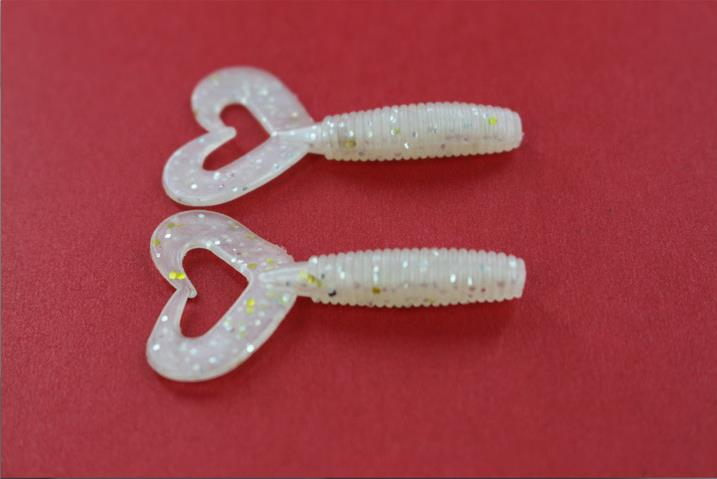 1.5g 5cm Red Worm Fishing Lure Swim Baits Soft Lure Fishing Tackle Soft Bait Soft Lure Bait Lovely Luster
