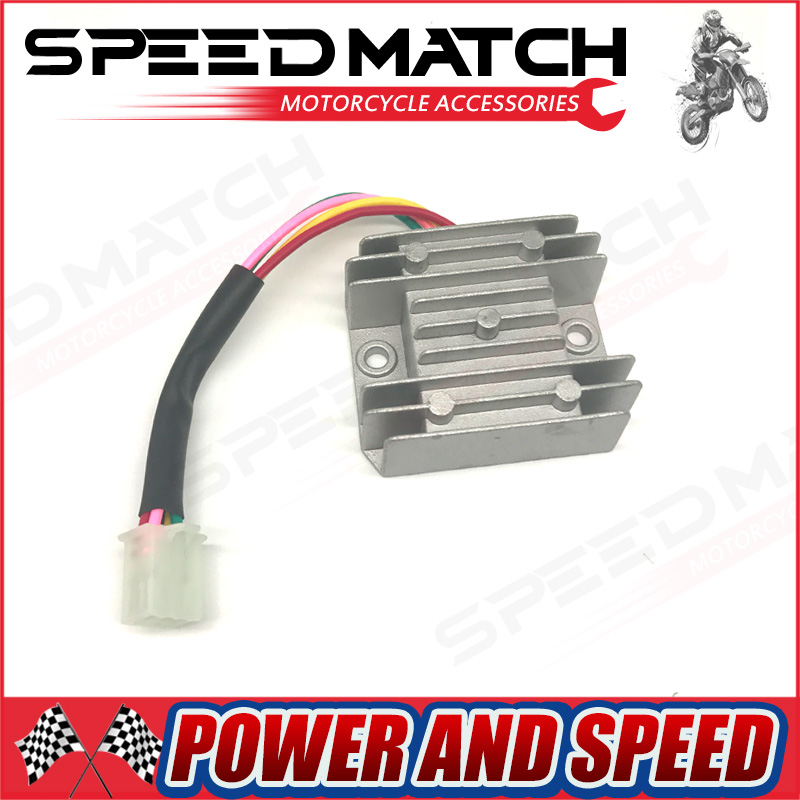 4 Wires Voltage Regulator Rectifier Motor Motor Motor Mercury ATV GY6 50 150cc Scooter Moped JCL NST TAOTAO