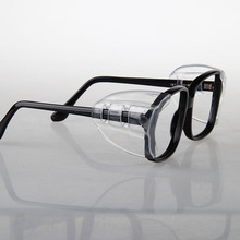 2pair Protective covers for glasses SideShields  for Myopic glasses Safety Flap Side protective sheet Anti sand splash