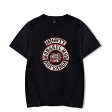 LUCKYFRIDAYF Kpop Fashion Mongrel Mob Idol New Print Short Sleeve T-shirt Cool Cotton Men/Women Summer Clothes