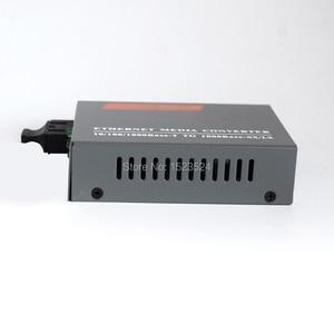 Image 4 - Бесплатная доставка, конвертер оптического волокна Gigabit, 1000 Мбит/с, многомодовый дуплексный порт SC, 2 км, внешний источник питания
