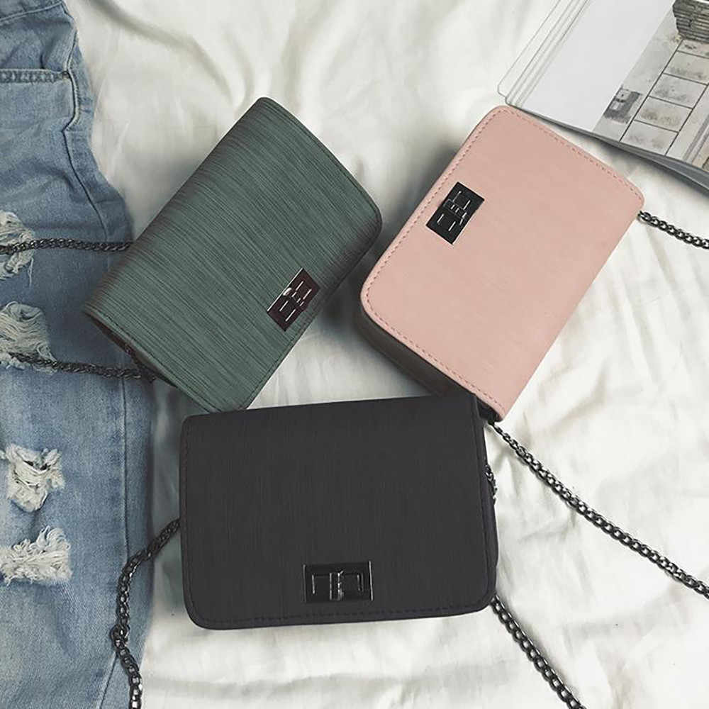 woman bag 2019 Worean Version Wild Small Square Bag Shoulder Messenger Woman Bag trousse maquillage femme
