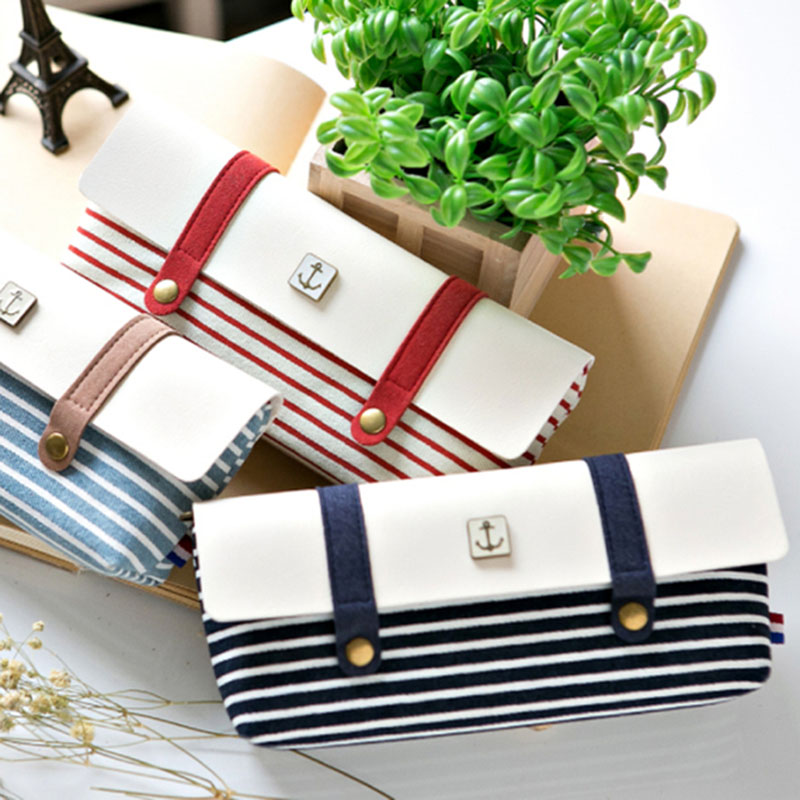 New PU & canvas School Pencil cases for Girls or boys Canvas Pencil Bags Creative Stationery Offices School Supplies Gift noverty large capacity multifunctional canvas pencil cases boys girls stationery bags for school supplies material escolar 04803