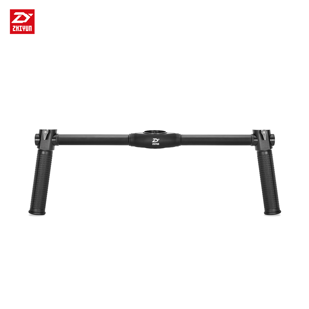 zhi yun Zhiyun Official Dual Handheld Extended Handle for Zhiyun Crane 2 Gimbal Stabilizer