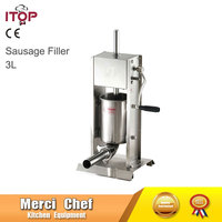 Food Machine Brand New 3L 5L 7L Sausage Filler Meat Filling Machine Manual Stuffer Commercial Food