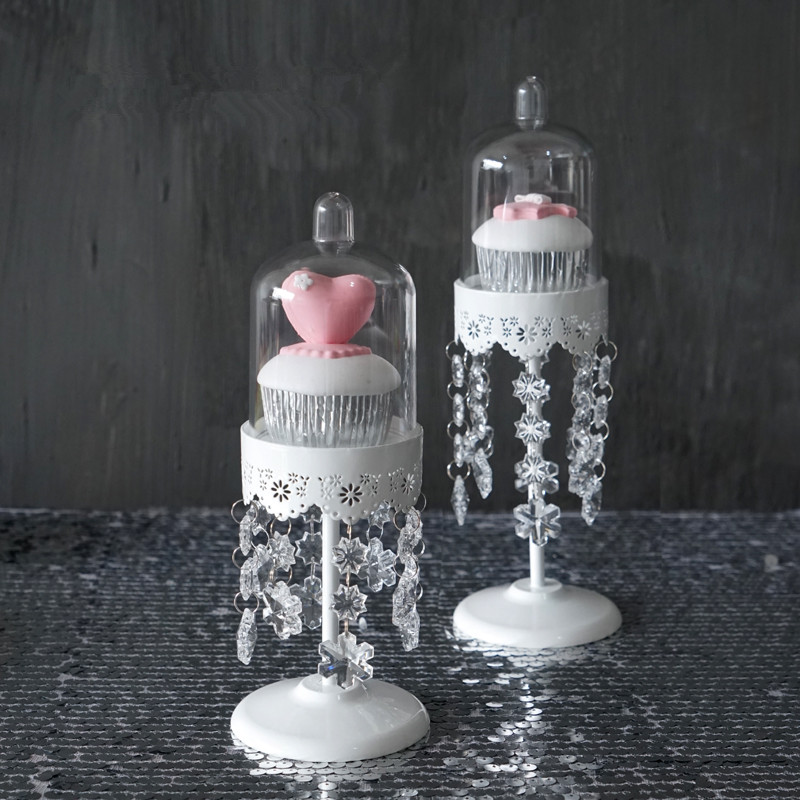 Laciness mini-torta rack divatos kristály függő torta pan szalag - Konyha, étkező és bár