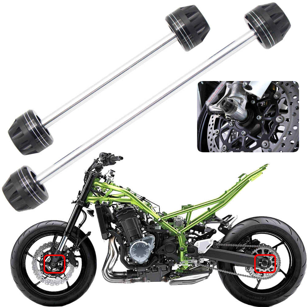 For YAMAHA FZ6N FZ6S FZ6 N/S 2004 2009 Motorcycle Aluminum Front & Rear Axle Fork Crash Sliders Wheel Protector-in Covers & Ornamental Mouldings from Automobiles & Motorcycles on AliExpress - 11.11_Double 11_Singles' Day 1