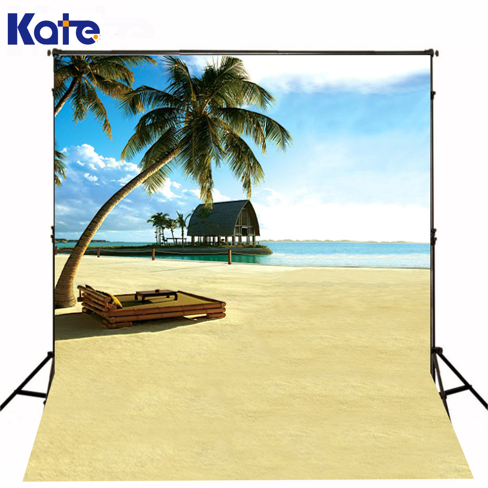 200Cm*150Cm Kate Digital Printing Beach Background  Fundo Wooden Beach 3D Baby Photography Backdrop Background Lk 2066 215cm 150cm fundo flower blossoms3d baby photography backdrop background lk 1860