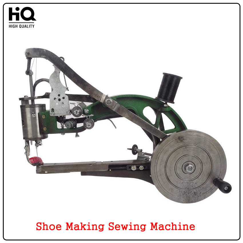 Manual Sewing Machine Shoes Repairs Machine Dual Cotton Nylon Line Industrial Leather Cobbler Shoe Making Machine High quality