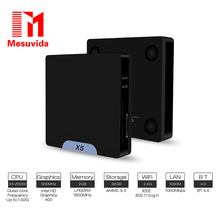 Mesuvida X5 Mini PC Intel Atom X5 – Z8350 2GB 32GB Bluetooth 4.0 1000M LAN 2.4G Wifi TV Box Support Windows 10 & Android 5.1