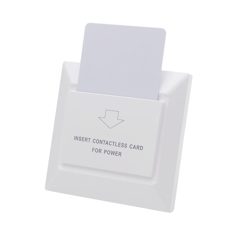 Able 13.56mhz White Hotel Mifare S50 Rfid Card Switch With Room Number And Check In Time Limit Function Energy Saver Saving Switch Security & Protection Access Control