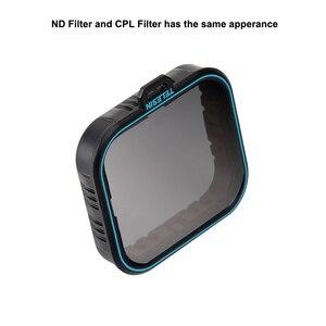 Image 2 - TELESIN 4 Bộ Lọc gói Thiết Lập 3 ND Filter (ND4 8 16) + 1 CPL Đối Với Gopro hero 7 hero 6 hero 7 6 5 bộ lọc phân cực phụ kiện filtre kit