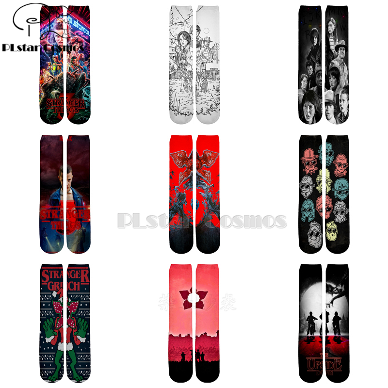Plstar Cosmos Stranger Things Socks Cartoon 3d Socks Men Women Funny 3D High Socks Men Women High Quality Dropshopping-2