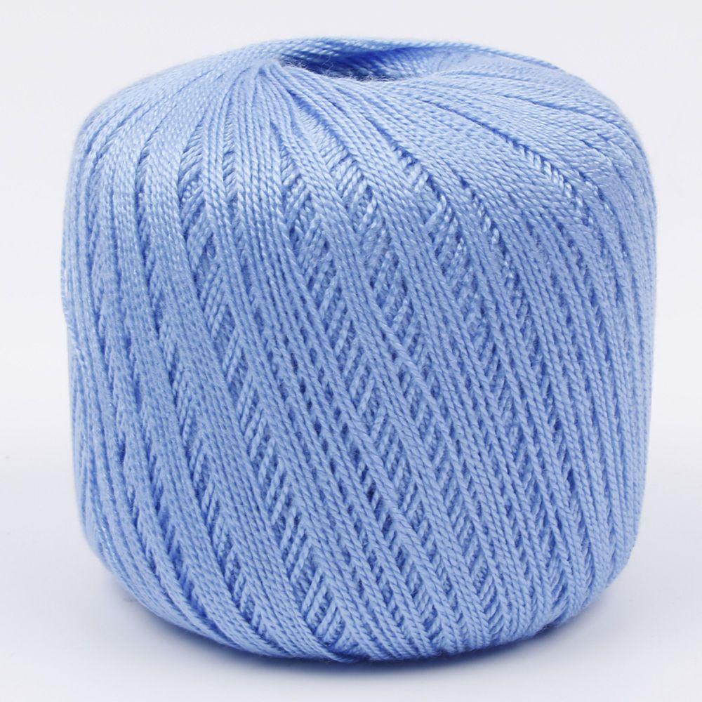 400 метров хлопчатобумажная нить для вязания крючком инструмент для рукоделия ручной работы - Цвет: Серебристый