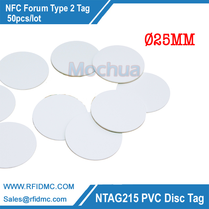 NTAG215 Card PVC Round Tag NFC Forum Type 2 Tag for Tagmo High Performance NFC NTAG215 Card ntag215 chip card nfc forum type 2 tag for tagmo high performance nfc ntag215 card for all nfc enabled devices min 20pcs