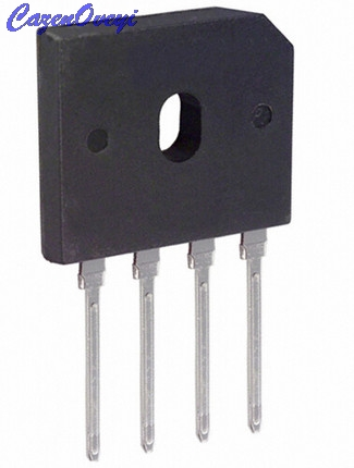 5pcs/lot GBU608 GBU 608 ZIP-4 6A 800V Bridge Rectifier In Stock