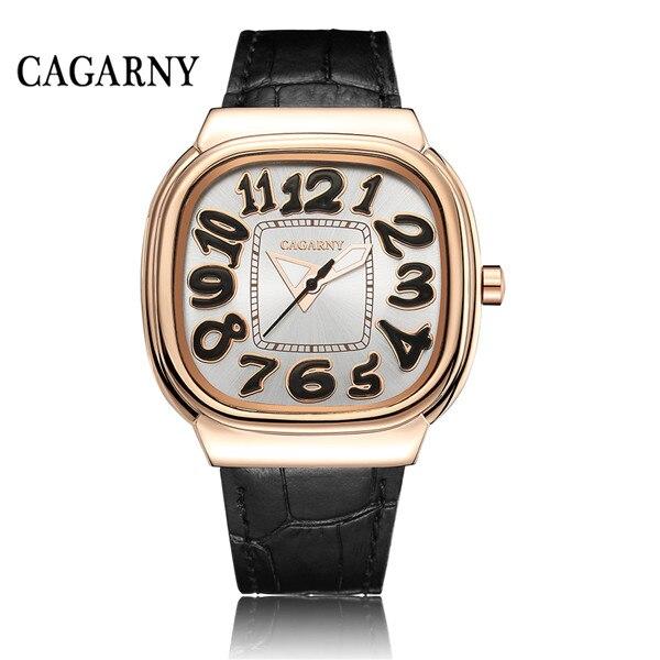 New fashion luxury brand men watch leather belt casual men and women quartz couple watches
