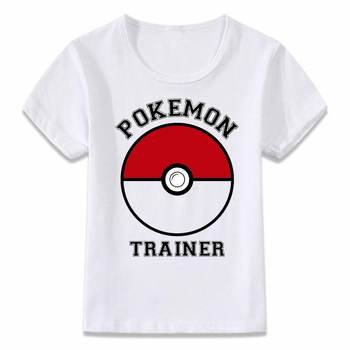 T-Shirt Enfants Pokemon Trainer Unisexe