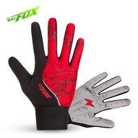 BAT FOX Winter New MTB Cycling Bike Gloves Wear Resistant Breathable Climbing Outdoor Sports Gloves Luvas