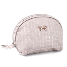 Travel Cosmetics Bag Women Casual Makeup Bags Leather