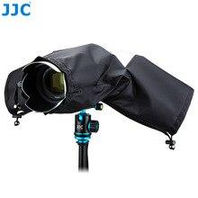 Jjc كاميرا 150x112x75 ملليمتر أسود التمويه الرمادي حامي eos slr صغير للماء غطاء المطر لنيكون d90 caono 7d