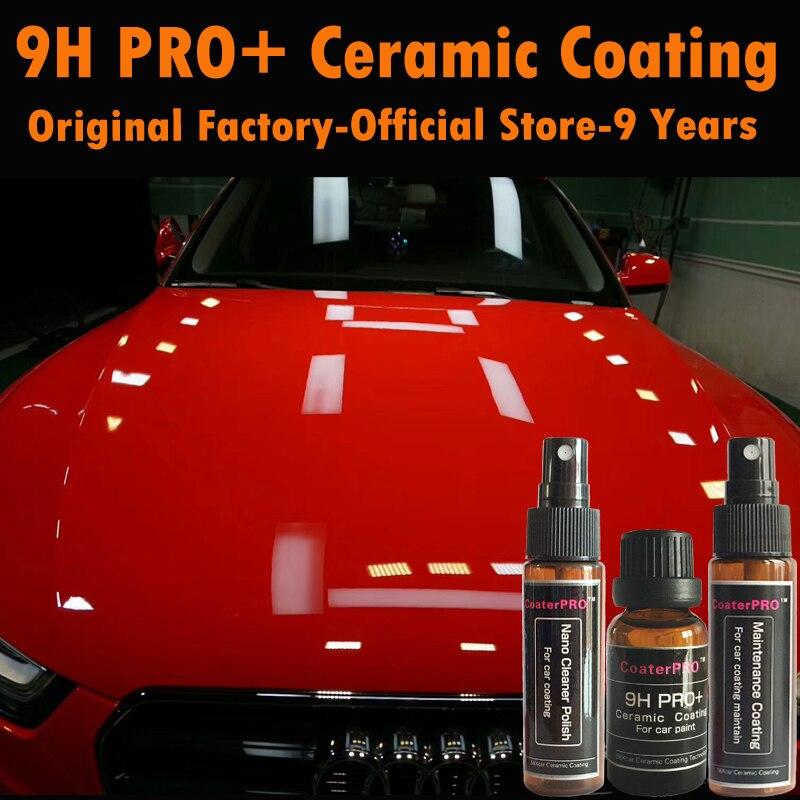 Car Paint Store >> Us 53 9 50 Off Coaterpro 9h Pro Professional Nano Coating Liquid Car Paint Protective Liquid Glass Quartz Sio2 Ceramic Coat From Japan Factory In
