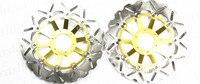 Бесплатная доставка мотоцикл передний тормозной ротор диск для Honda CB1 1989 90 CB400 четыре 97 00 CB400 SB 2005 CB400 Бол D'OR 2005