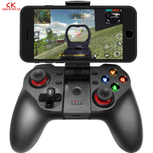 Joystick Handle Wireless Android Mobile Gamepad Controller For Pubg Gaming Pad Bluetooth Wireless For Android IOS Mobile Phones wireless gamepads bluetooth one key connection gamepad rocker pubg games controller joystick for android ios iphone smart phones