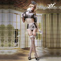 6006 Women Sexy Lingerie New Arrival French Maid Cosplay Costumes Servant Cosplay Outfit Sexy Women Dress Valentine Costume Sets