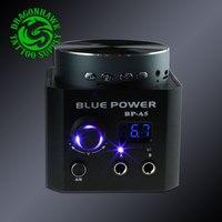 USB טעינת נמל Bluetooth רמקול תיבת כוח קעקוע מקצועי מכונת קעקוע אספקת חשמל טלפון