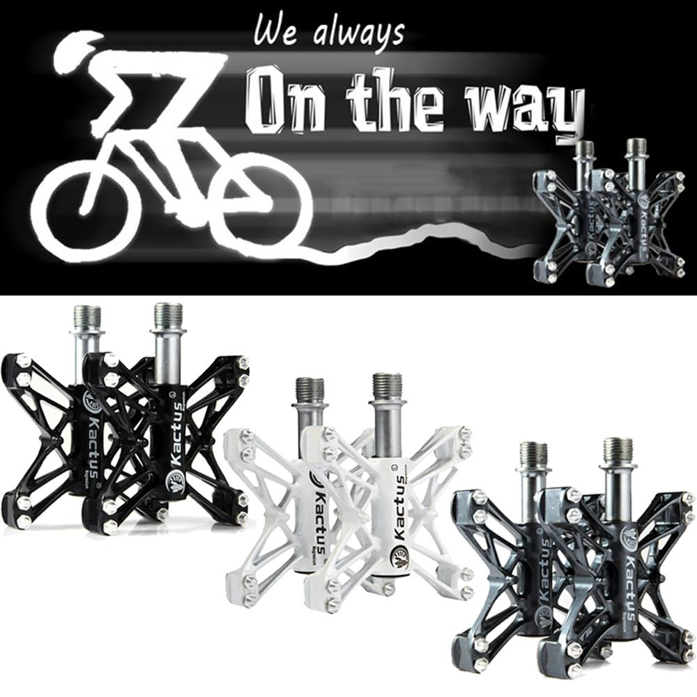 2PCS Universal Non-Slip Bike Bicycle Pedals Cycling Pedal for BMX MTB Bike