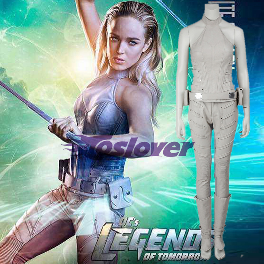 DC/'s Legends of Tomorrow Costume White Canary Cosplay Sara Lance Green Arrow