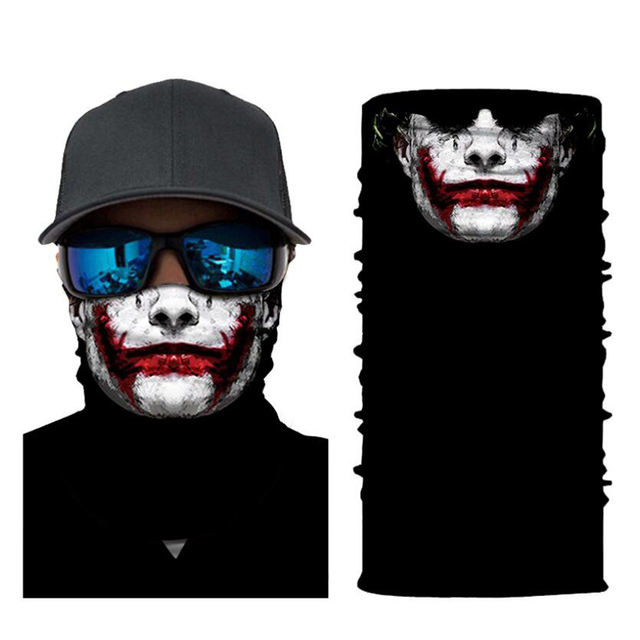 CDCOTN Car Motorcycle & Bike Protective Mask Face Mask Hats Seamless Bandana Scarve Halloween Party Feast Supplies 5