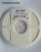 100 ШТ. 0603 4.7 МКФ 475 4700NF 10 В X5R 10% Керамические конденсаторы