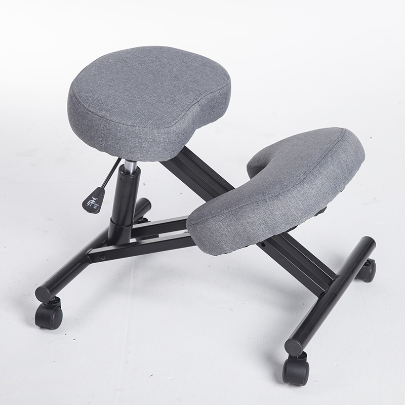 Kneeling Chair Ergonomic Posture Correcting Knee Stool For Back Support Neck Pain Relief Computer Desk Office Chair Fabric Seat