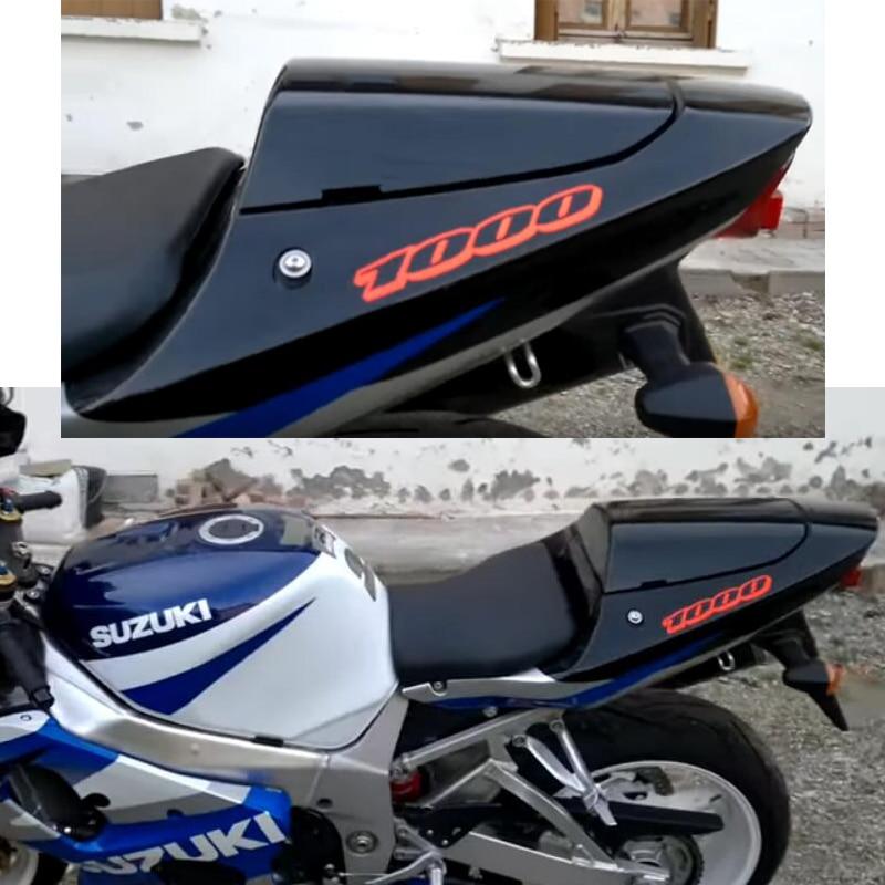 Накладка на заднее ПАССАЖИРСКОЕ СИДЕНЬЕ мотоцикла для Suzuki K2 GSXR 1000 GSXR1000 GSXR600 GSXR750 K1 GSXR 600 750 00 01 02