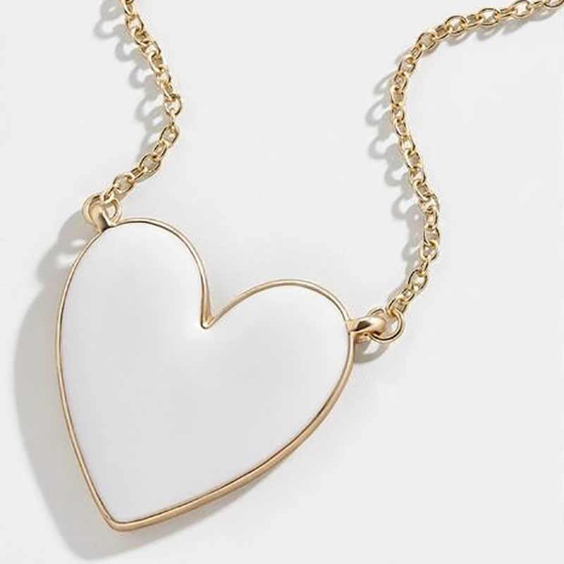 Mejor señora Nuevos Bohemios cristal de cristal carta corazón labios gargantilla collar pendientes mujeres capa elegante importante collar de boda