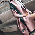 Winter Scar for Women Luxury Brand Fashion Blanket Women's Cashmere Shawl Cape Embroidery Bee Pashmina Scarf Foulard Femme Hiver
