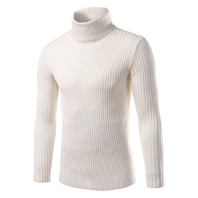 Pullover Men's Sweater Knitted Slimming Autumn Fashion Winter Casual And M-3XL Brand