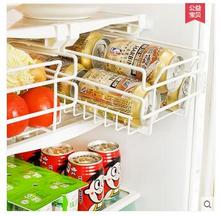 Kitchen refrigerator iron art shelf can be extendable partition layer