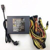 Free Ship 1800w Psu Pc Power Supply For Bitcoin Miners Mining Machine Psu 190V 265V For