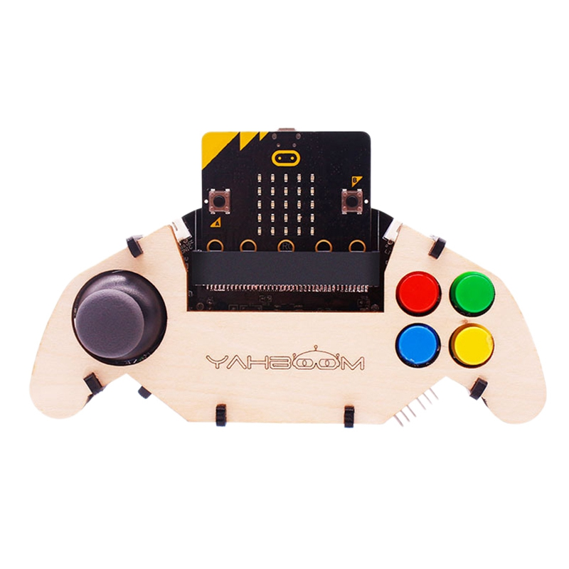 Applicable To Micro Bit Bbc Gamepad Expansion Board Handle Microbit Robot Car Joystick Stem Toys Programming Game Controller (