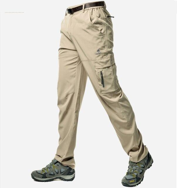 SHYSBV Pantalon de randonn/ée Pantalon De Randonn/ée pour Homme Pantalon De Randonn/ée pour Le Camping Pantalon Cargo Ext/érieur Bas De Randonn/ée Camping Randonn/ée Escalade-Jaune/_M