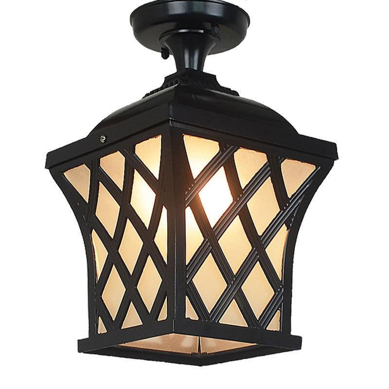 Outdoor waterproof garden Wall Lamps lamp outdoor corridor lamp European style balcony aisle garden vine lantern LU630210