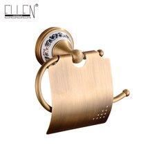 Настенный держатель для туалетной бумаги аксессуары для ванной комнаты Античная бронзовая Ванная оборудования-80386